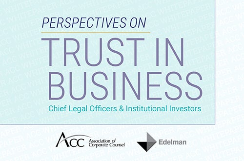trust in business cover art